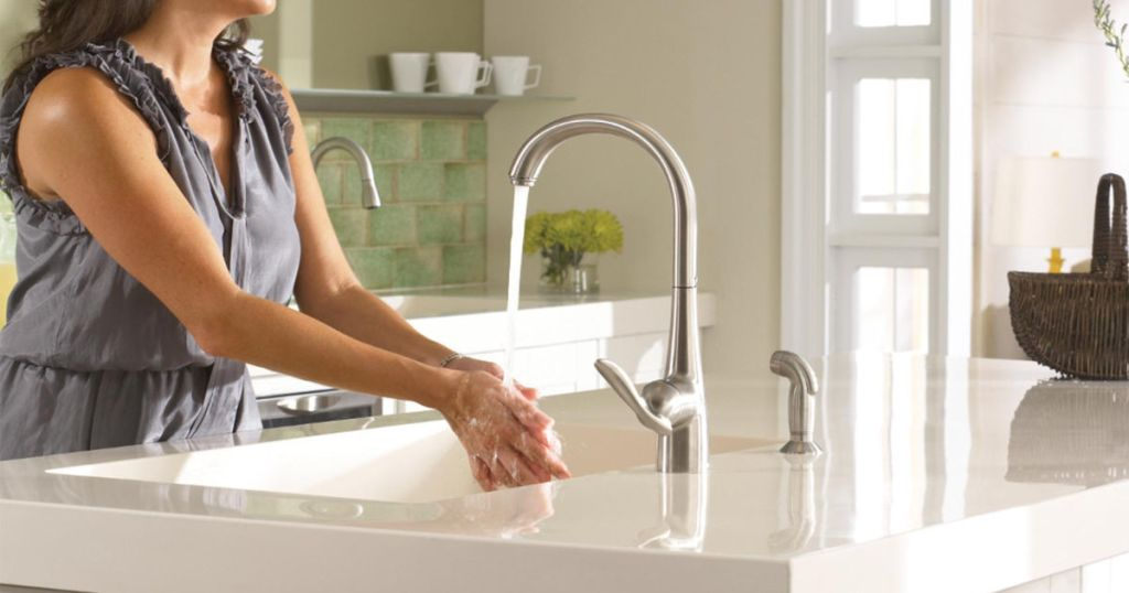 up to 60 off moen kitchen faucets on