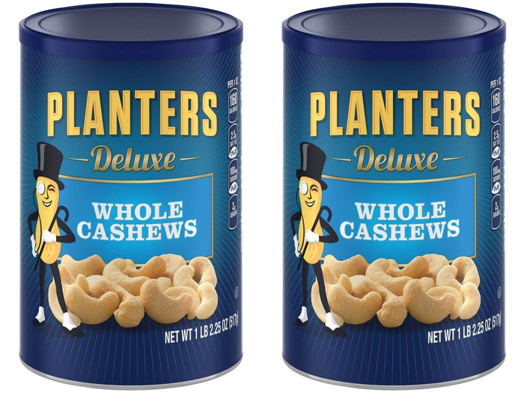 Amazon Planters Deluxe Mixed Nuts 1525 Ounce Canister