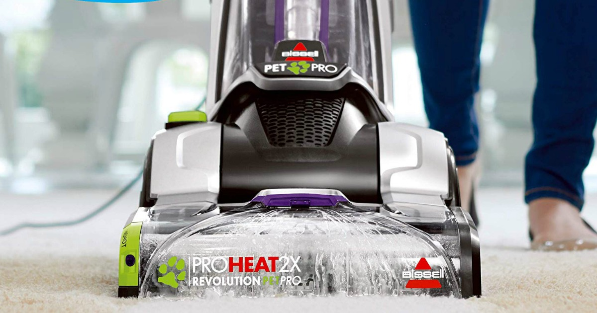 Bissell Proheat 2x Revolution Pet Pro Carpet Cleaner Only 152 99 Shipped Get 45 Kohl S Cash Hip2save