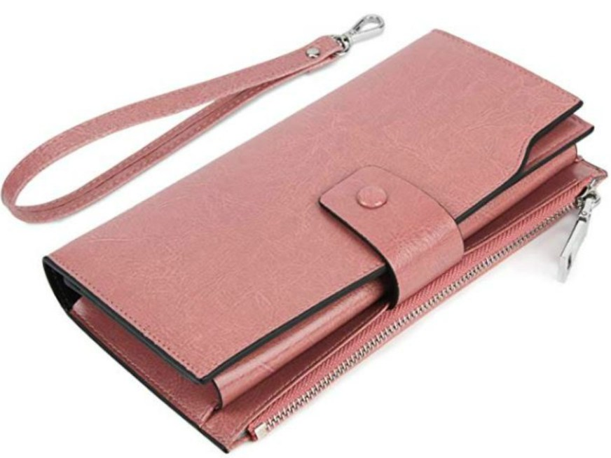 Amazon: Women's Leather RFID Wallet Only $24.74 Shipped ...
