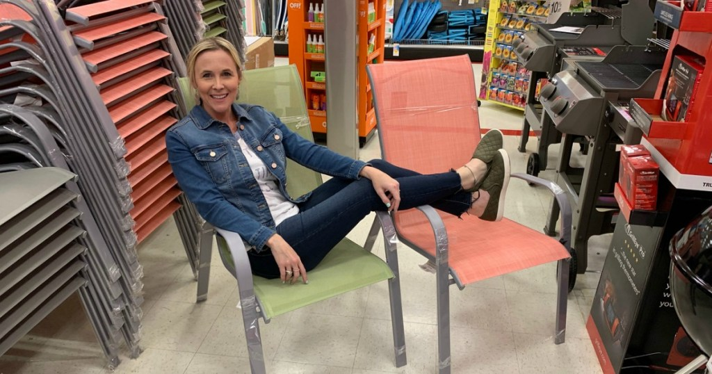 stacking patio chairs as low as 14