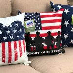 Patriotic Pillows Only 5 More At Walmart