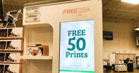 sam's club freeosk 50 free prints
