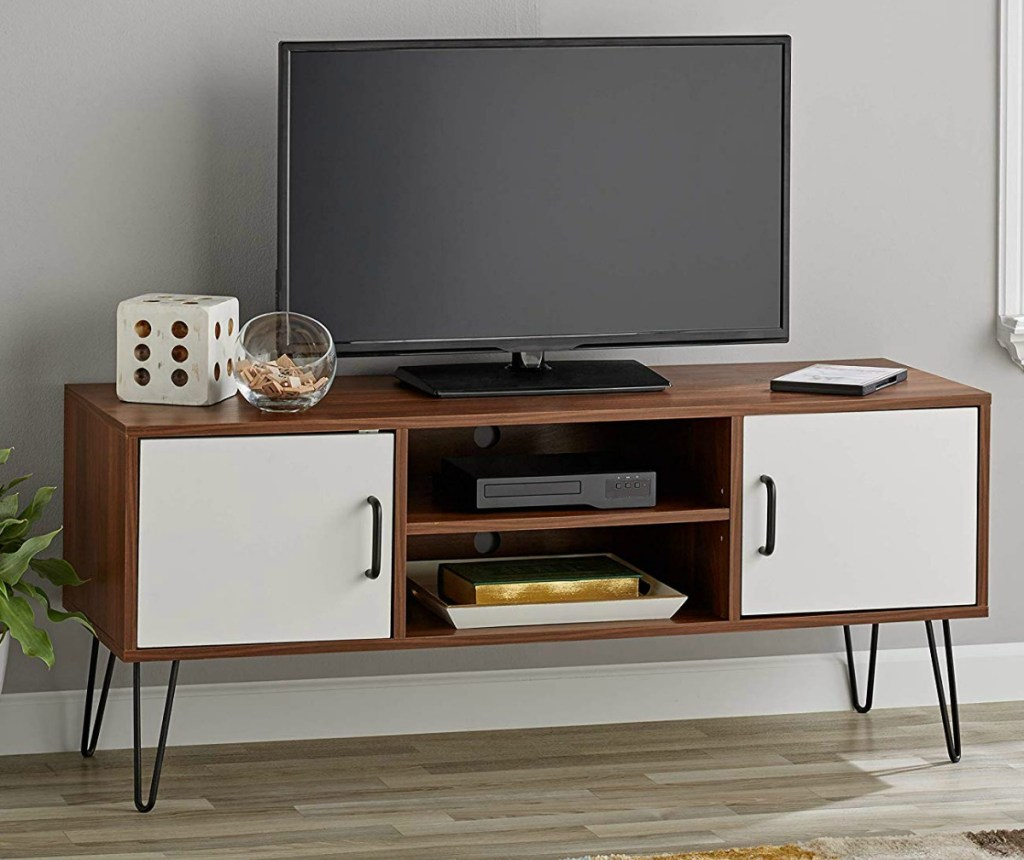 3-in-1 Flat Panel Tv Stand 99 Shipped Regularly 179 Deals