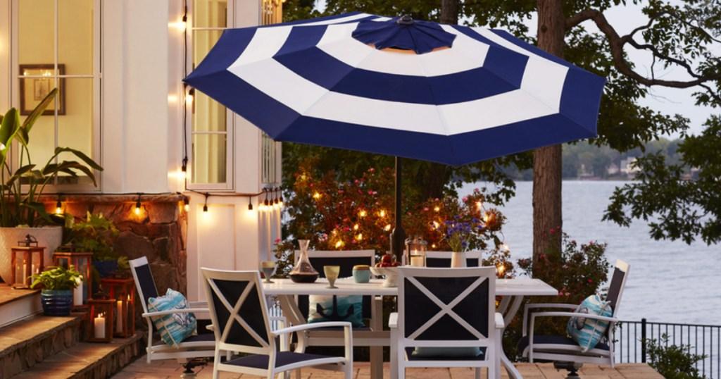 allen roth 9 foot patio umbrellas