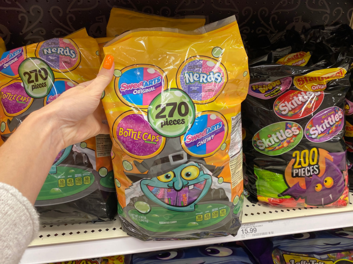 Target / holiday shop / halloween / halloween candy & treats / halloween snacks (57). Halloween Candy Large Variety Bags Just 11 99 Each At Target As Low As 4 Per Piece Hip2save