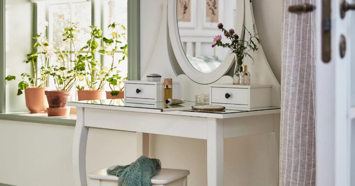 the 5 best ikea makeup vanity tables