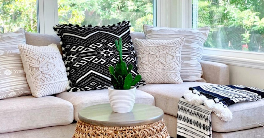 trendy throw pillow covers from amazon