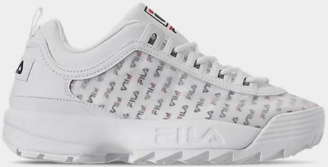 Fila brand women's shoe in white