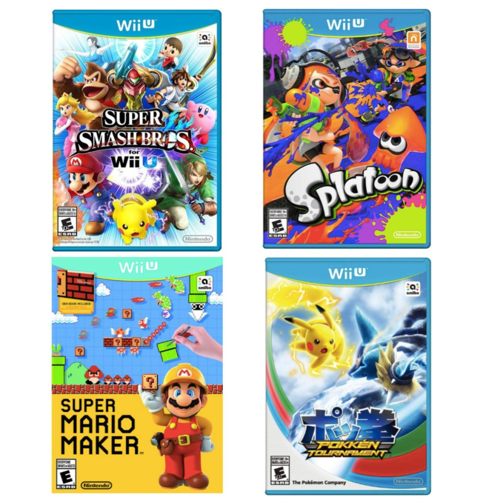 Super Smash Bros Pre Owned Wii U Game Only 9 99 On