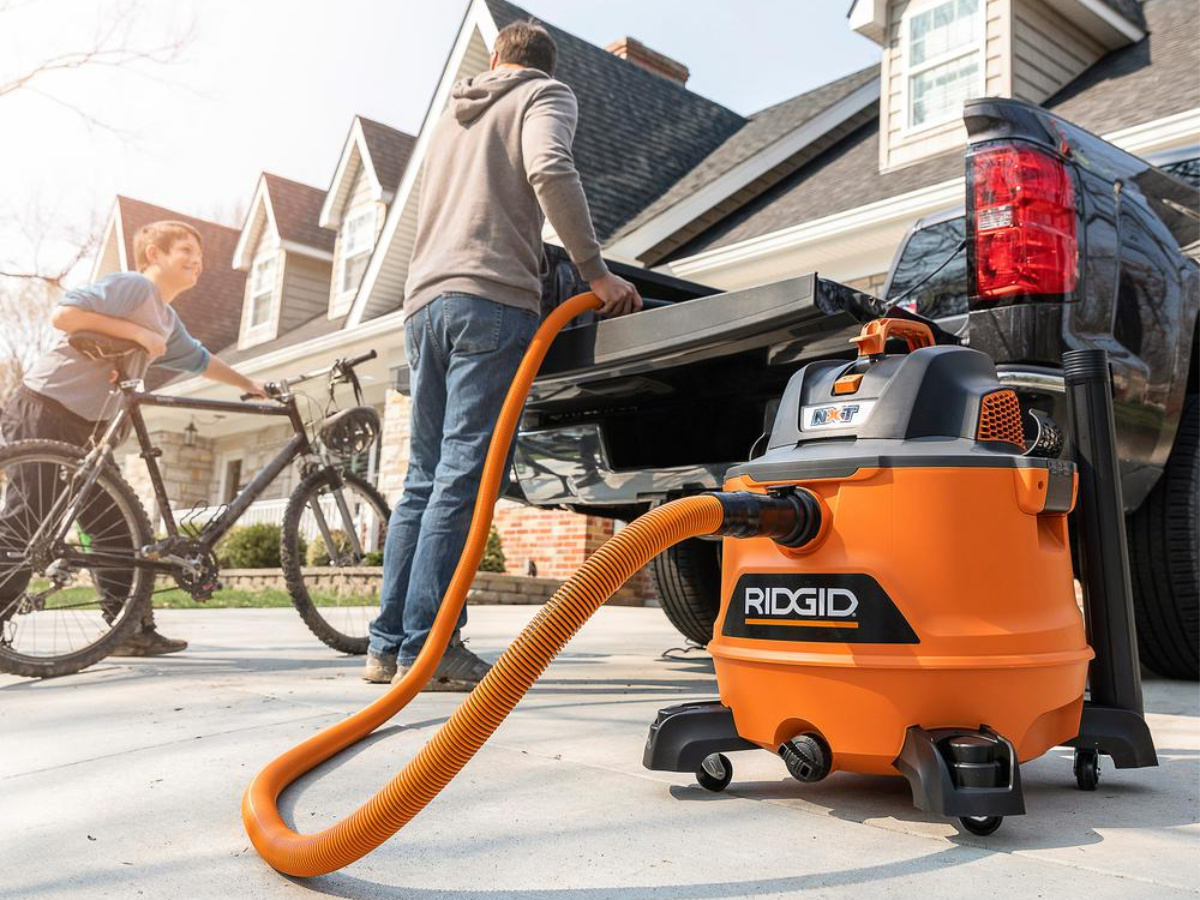 Big Savings On Ridgid Shop Vacuum On The Home Depot Hip2save