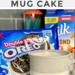 2 Ingredient Oreo Mug Cake The Viral Recipe From Tiktok Hip2save
