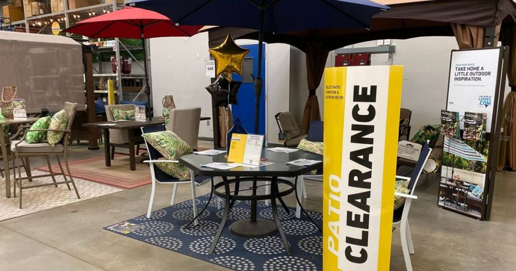 lowe s summer patio clearance in