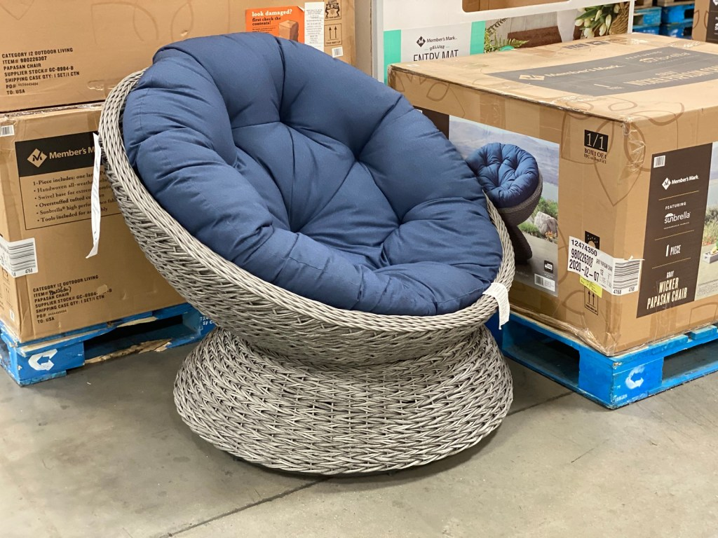member s mark patio egg chair only 249