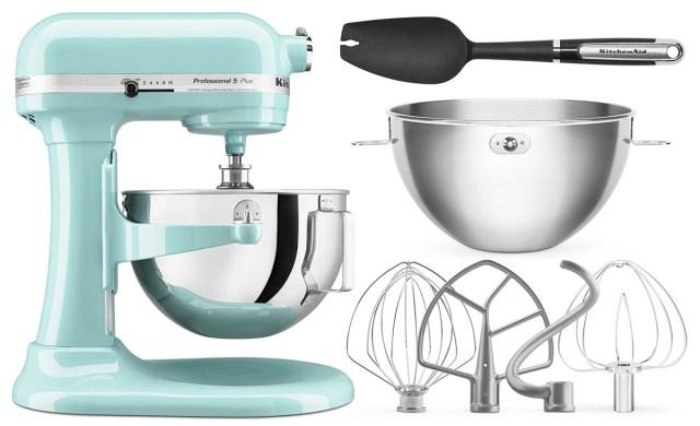 KitchenAid Professional 5 Plus Mixer Aqua
