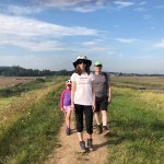 Hip2trek family walk on Norfolk coastal path