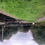 Canal locks at Bramley