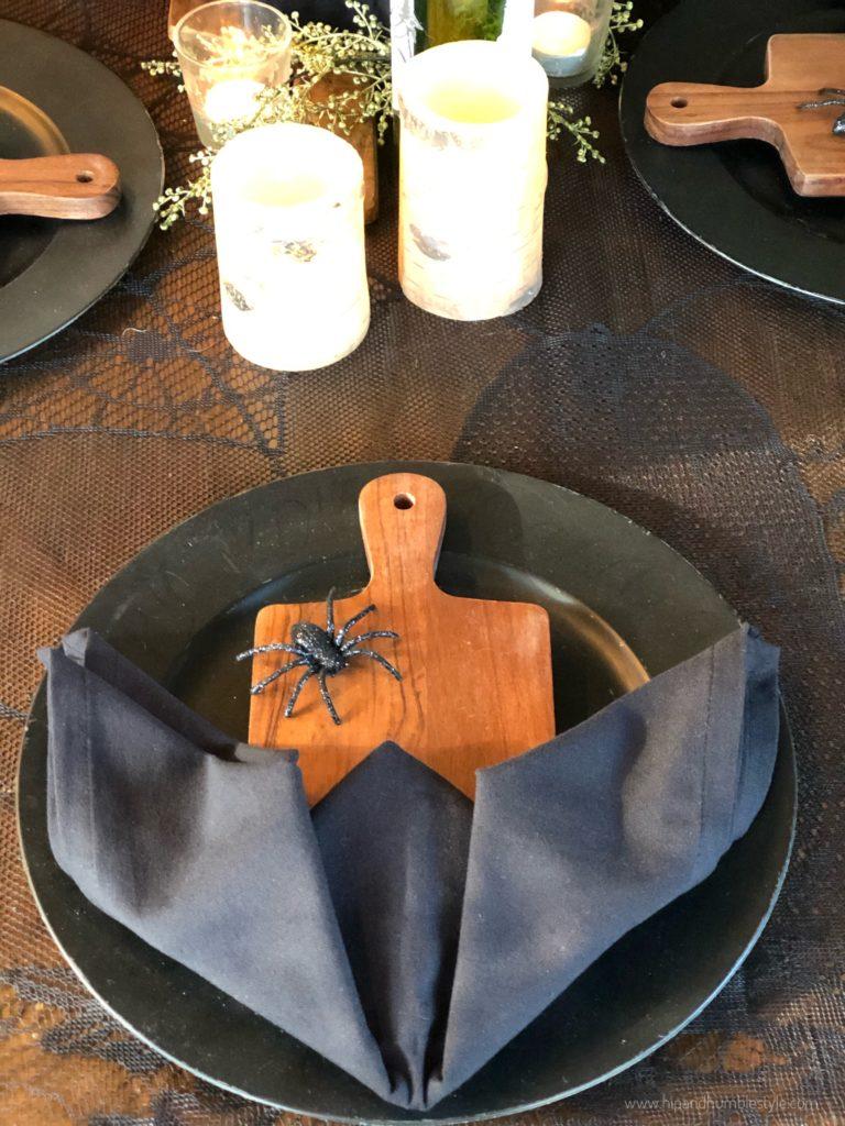 Haunted Table Setting