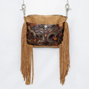 Cellphone Hip Bags - Side Cell Fringe