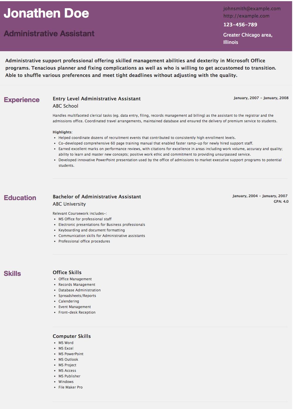 resume resume example resume template jobs