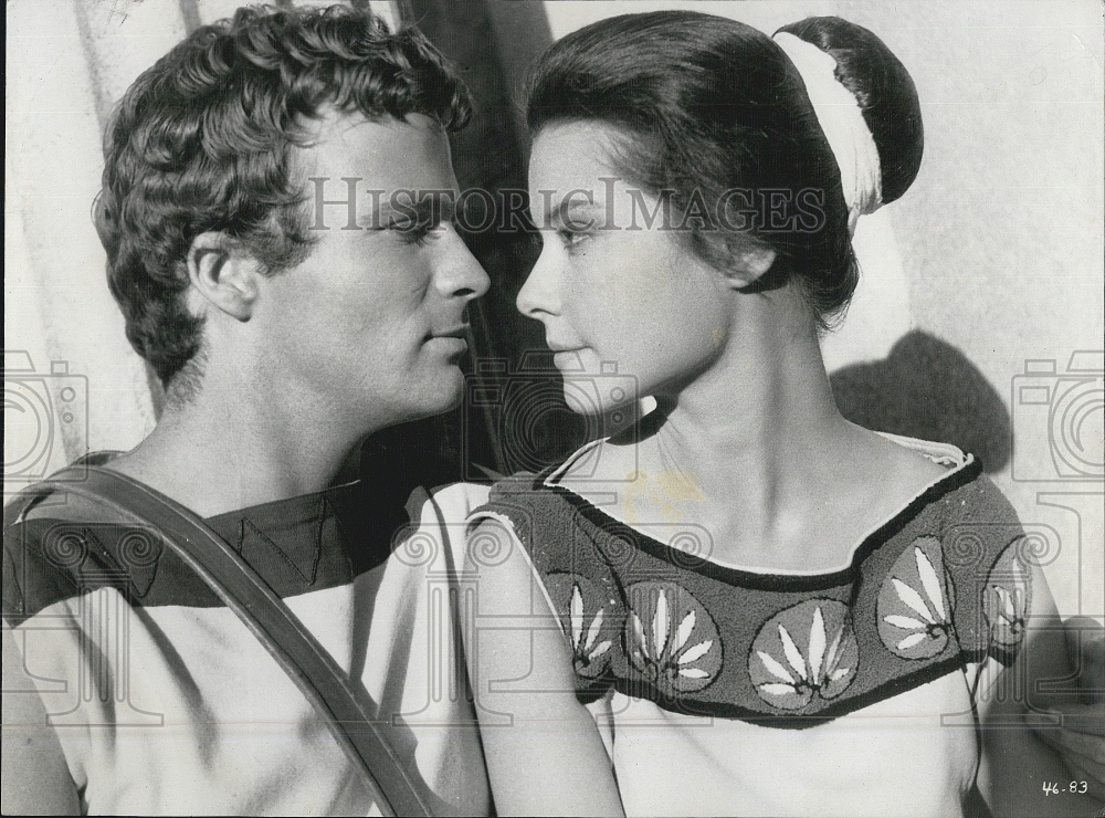Barry Coe Diane Baker The 300 Spartans 1962 Vintage