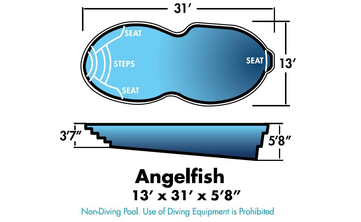 Angelfish Fiberglass Pool