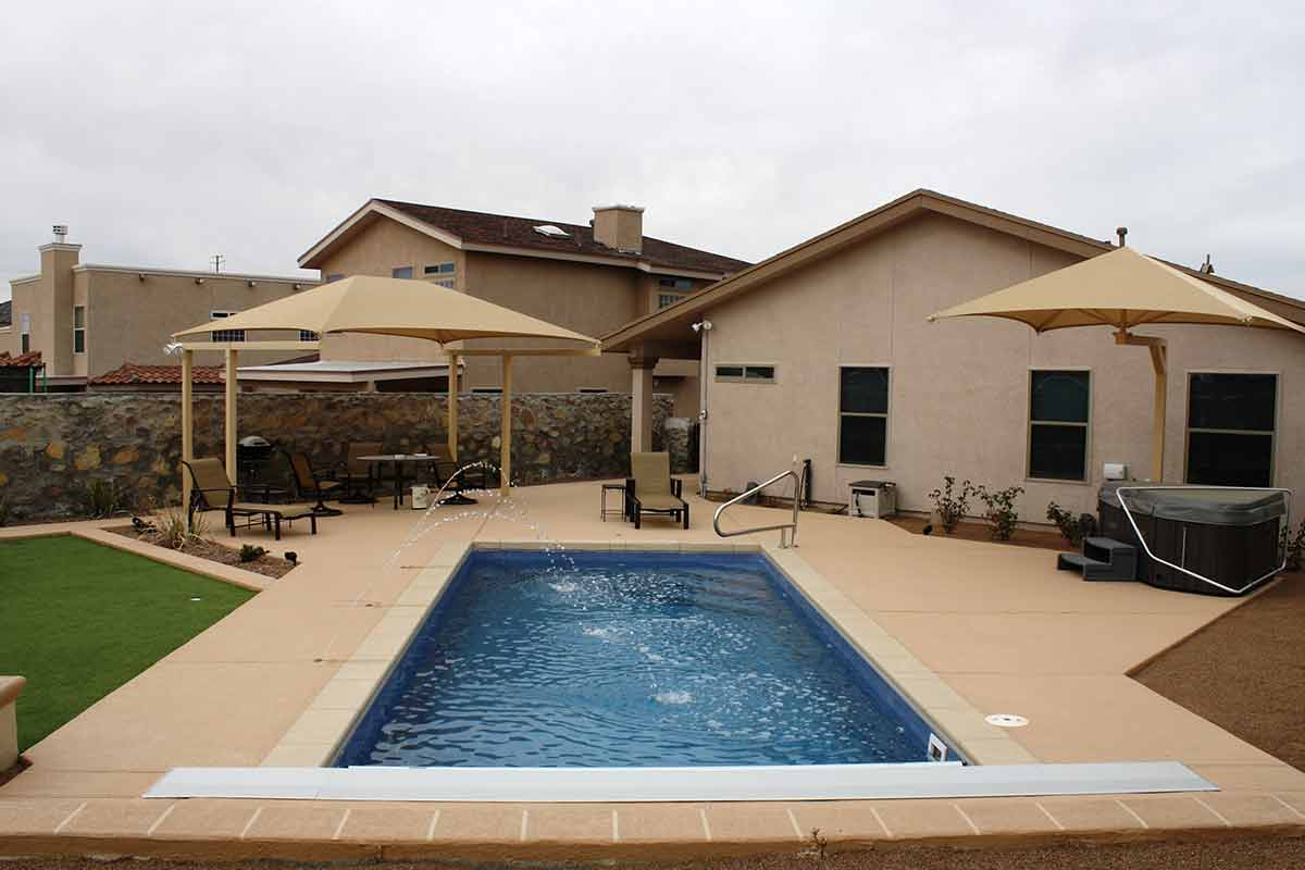 delray latham fiberglass pools
