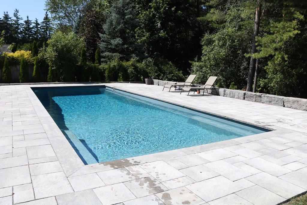 Dolphin fiberglass pools