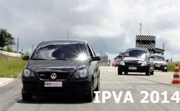 Tabela do IPVA 2014