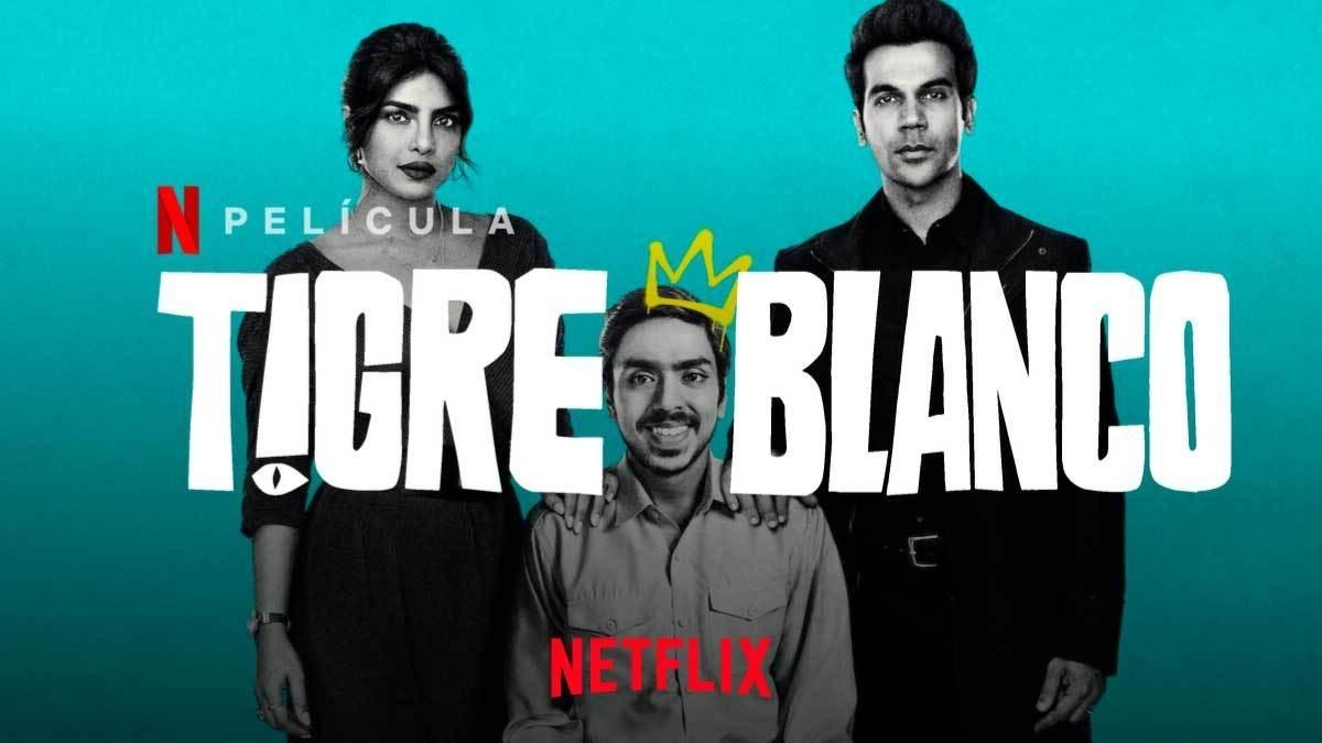 """Tigre Blanco"""" la película de Netflix, que es tendencia"""