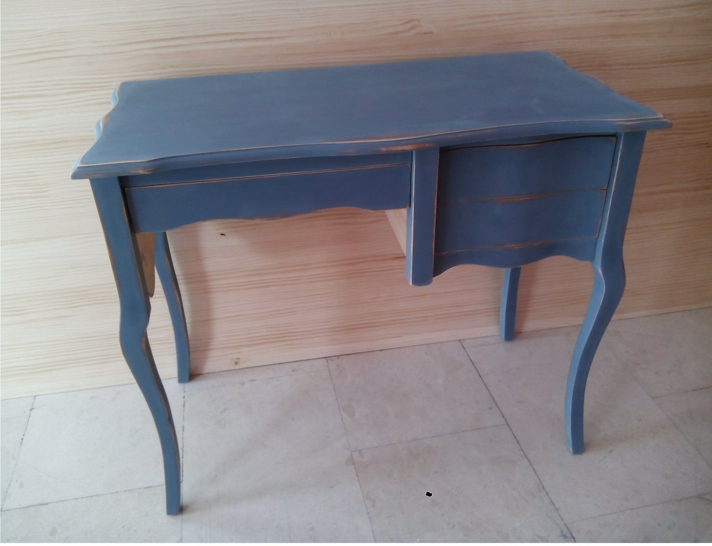 Mueble Marroqui Decapado Azul Marroqui Hiperhogar Es