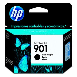 Cartucho HP 901 CC653AB Preto 4,5 ml
