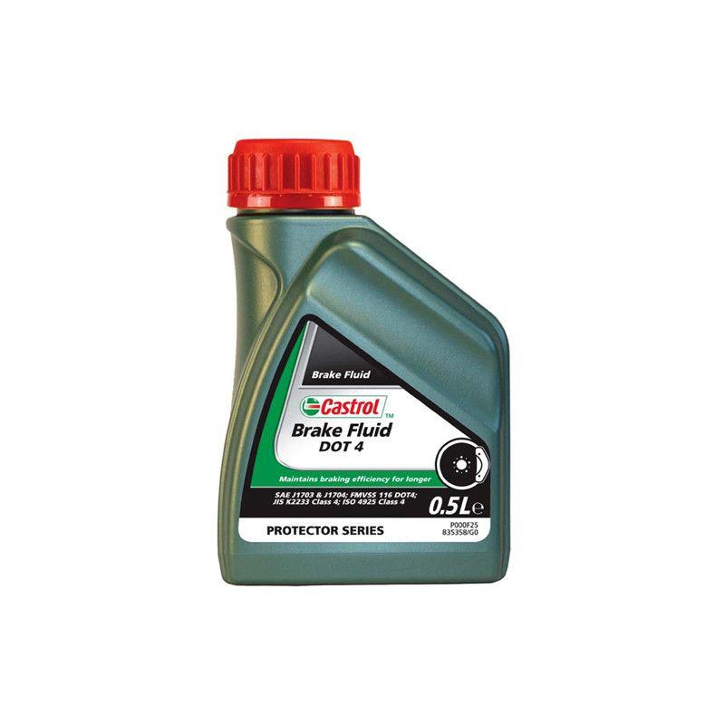 Liquido de frenos Castrol DOT4 0.5L   Hipermoto
