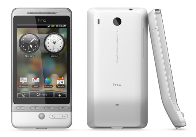 HTC Hero frontal trasera lateral