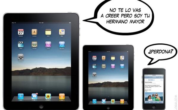 Un iPad de entre 5 y 7 pulgadas para 2011