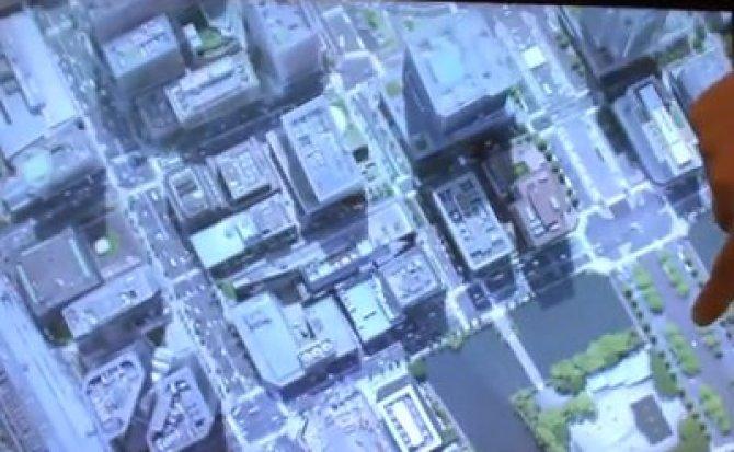Toshiba muestra en video su pantalla 3D que no necesita gafas