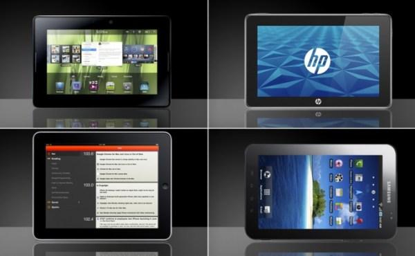 Comparativa: Tablets que llegaron para destronar el iPad