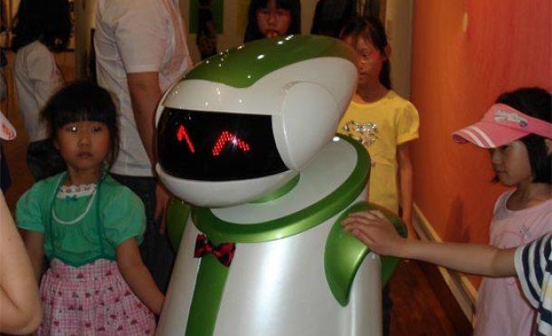 Docent: Robot guía en los museos de Corea del Sur