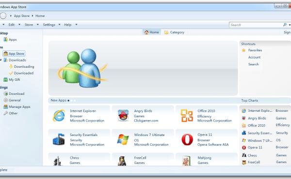 Microsoft ha creado una tienda de aplicaciones para Windows 8