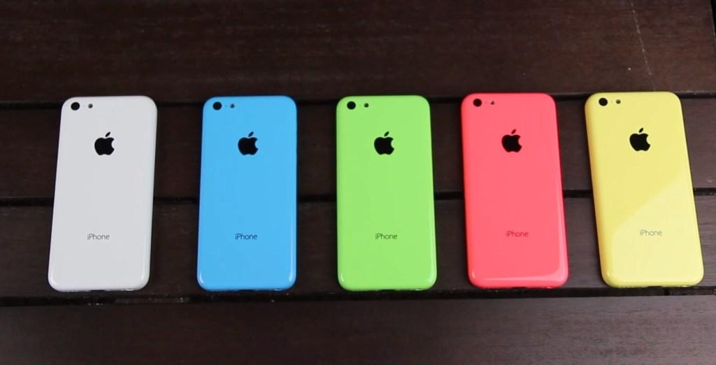 iPhone 5C de colores, en vídeo