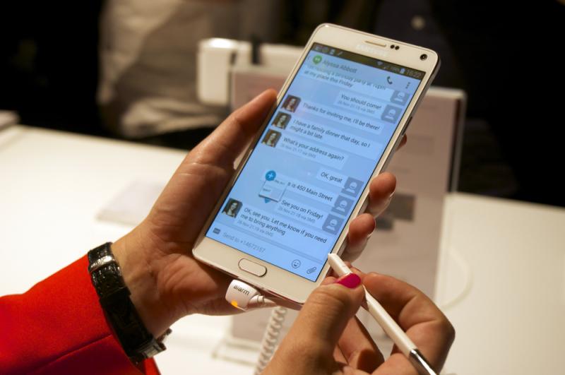Galaxy Note 4: primeras impresiones