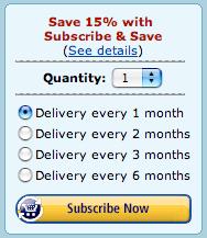 Amazon-Subscription