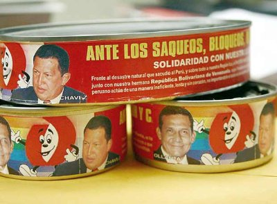 Latas de Atún Chávez
