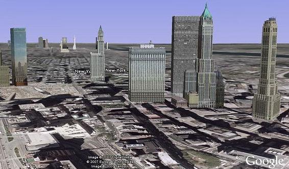 New York en Google Earth