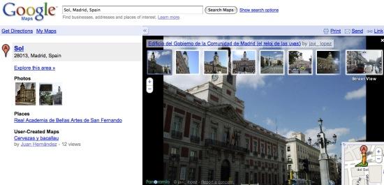 Street View integra a Panoramio