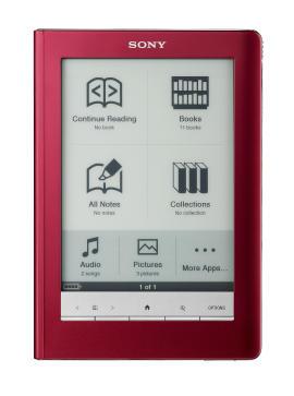 Sony Ebook Reader