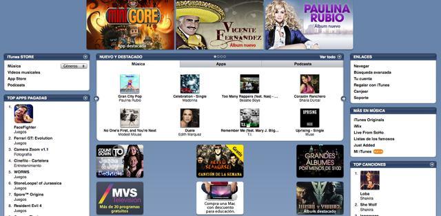 iTunes Music Store México