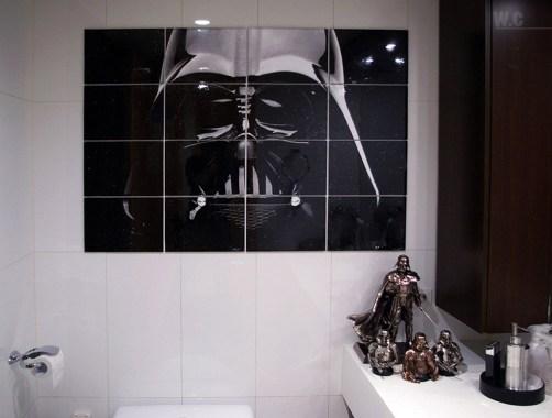 Baño Star Wars