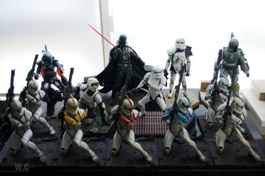 Figuras de colección de Star Wars