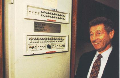 Leonard Kleinrock y el IMP 1
